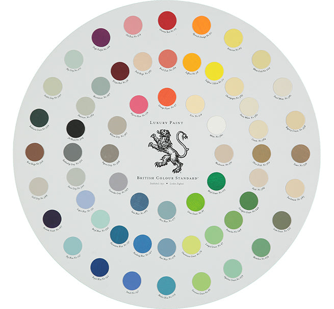 Luxury Paint Colour Wheel