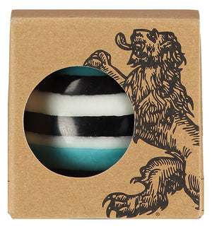 BRITISH COLOUR STANDARD - Large Eco Ball Candle - Jet, Pearl & Honey bird