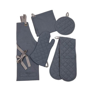 British Colour Standard Barista-Style Pot Holder in Gunmetal Grey