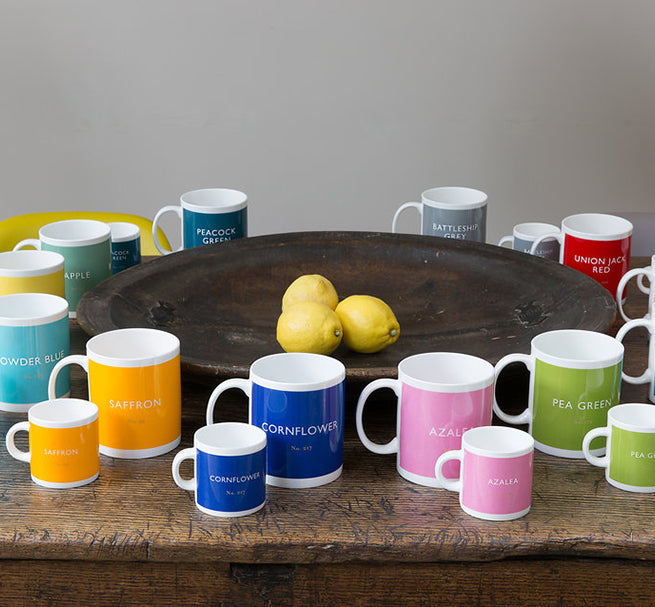 BRITISH COLOUR STANDARD - Battleship Grey Mug