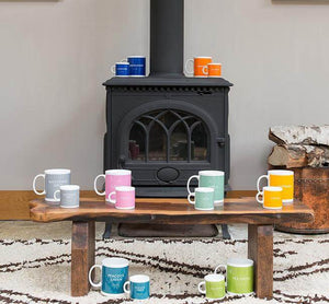 BRITISH COLOUR STANDARD Heliotrope Mug