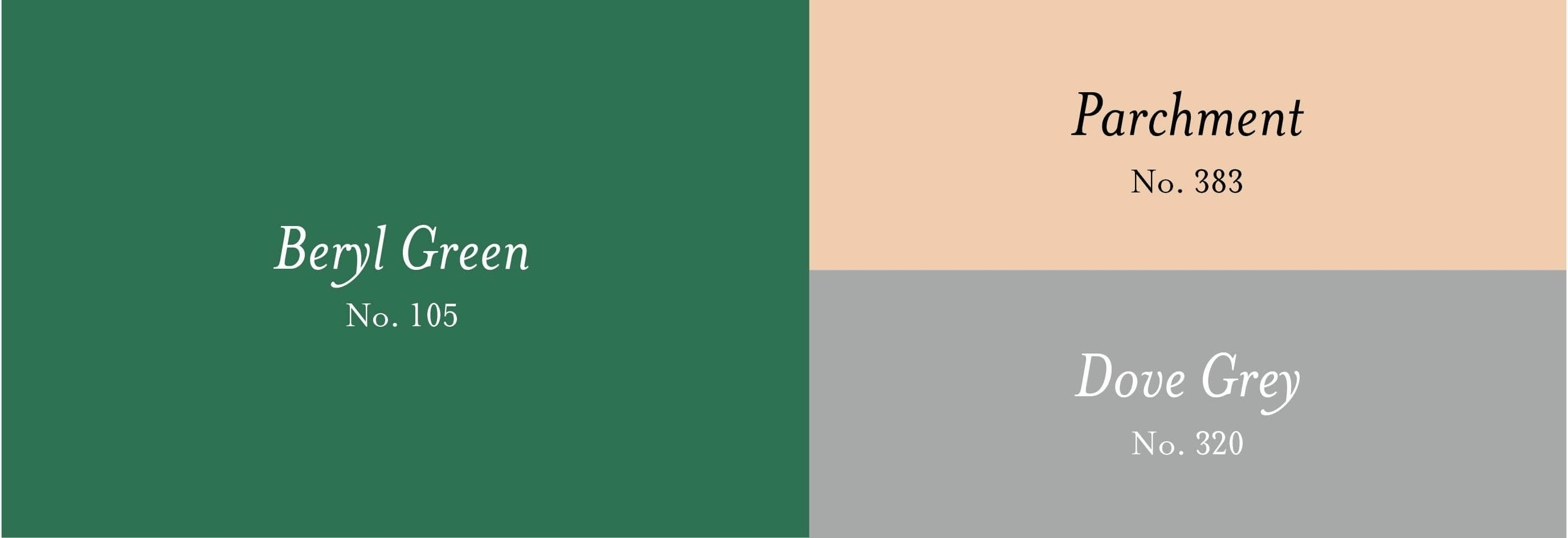 BRITISH COLOUR STANDARD Colour Complement with Beryl Green