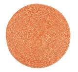 British Colour Standard Jute Placemat Tangerine