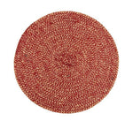 British Colour Standard Jute Placemat Guardsman red tied set of 4