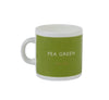 British Colour Standard BCS Pea Green Espresso Coffee cup, White Bone China,