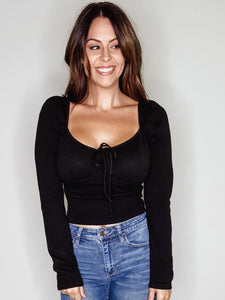 BLACK AFTER HOURS TOP