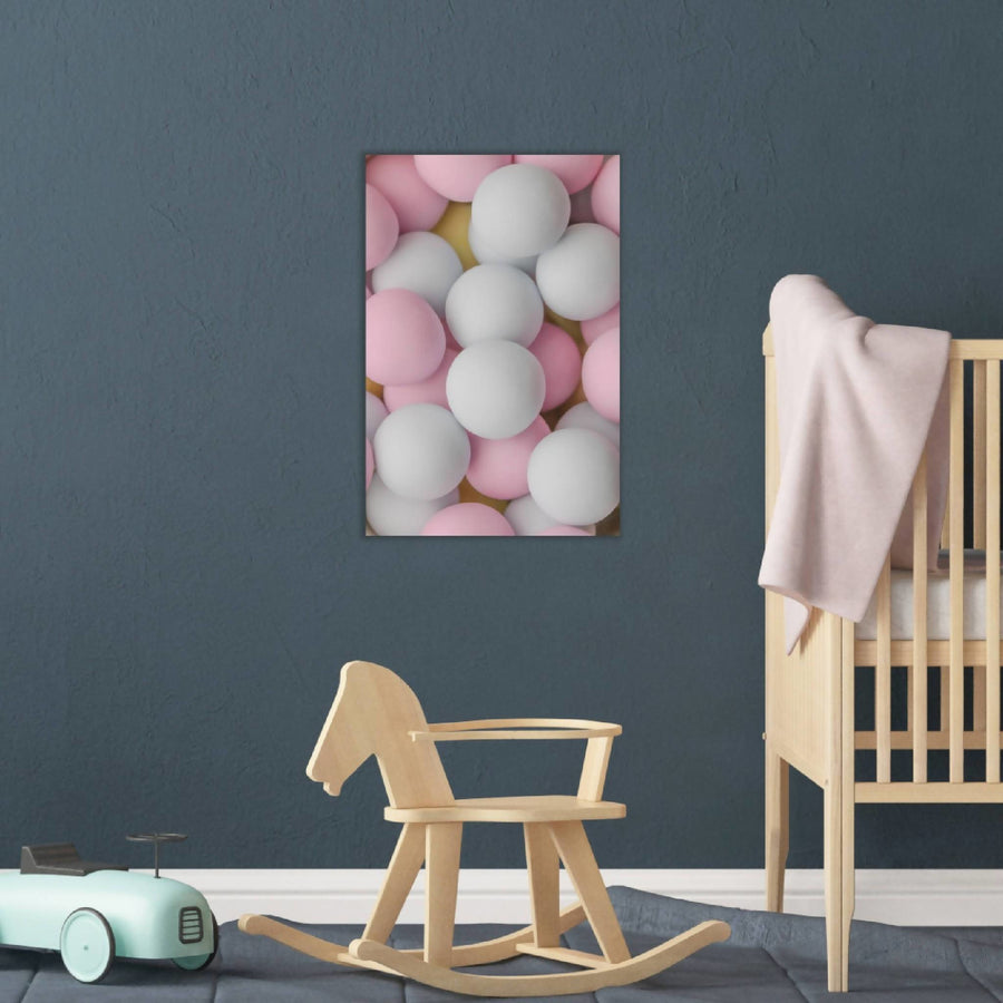 Deco Canvas Print, Soft in Pink