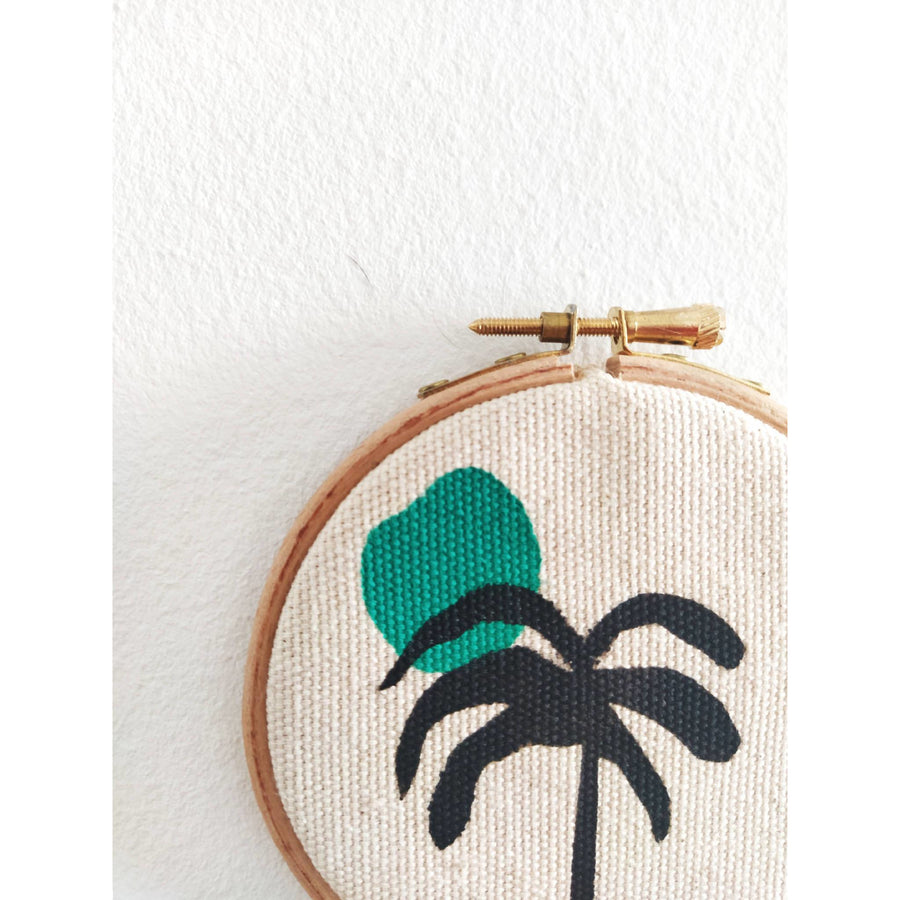 Palm Tree Mini Wall Hanging