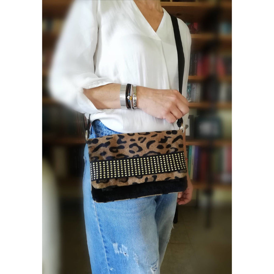 LEOPAR CROSSBODY POLYMORPHIC CITY BAG