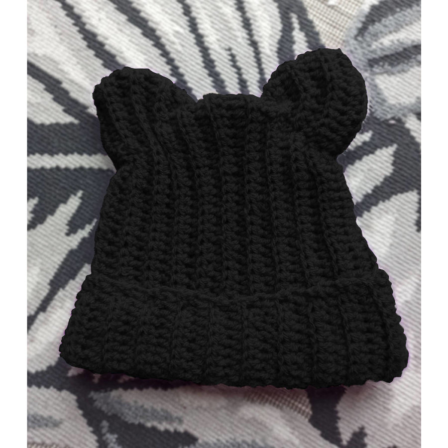 Beanie with Cat Ears