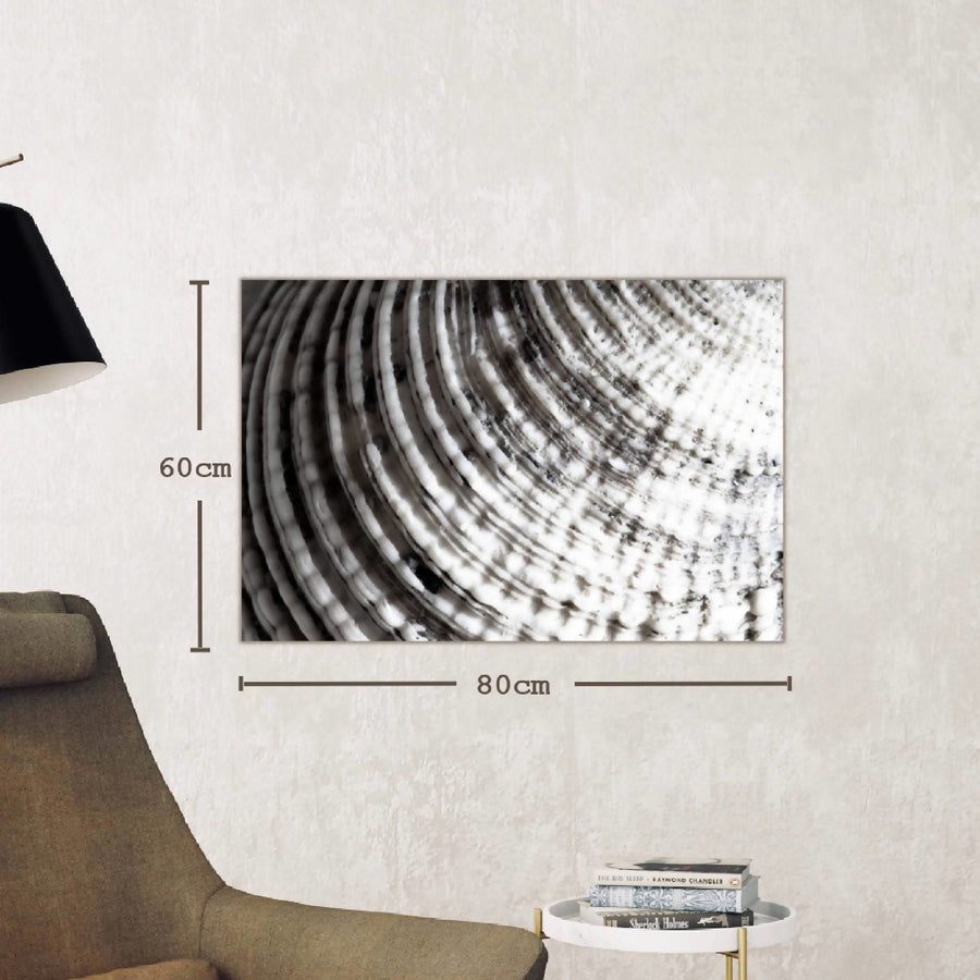 Deco Canvas Print, Folds