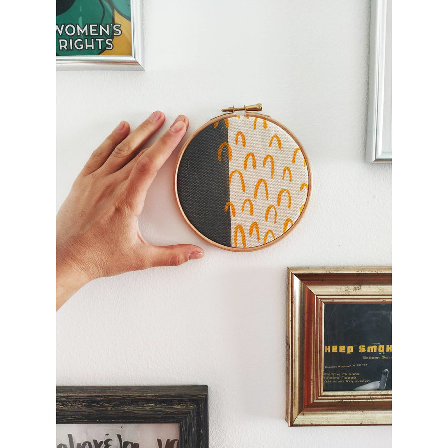 Abstract Print Hoop