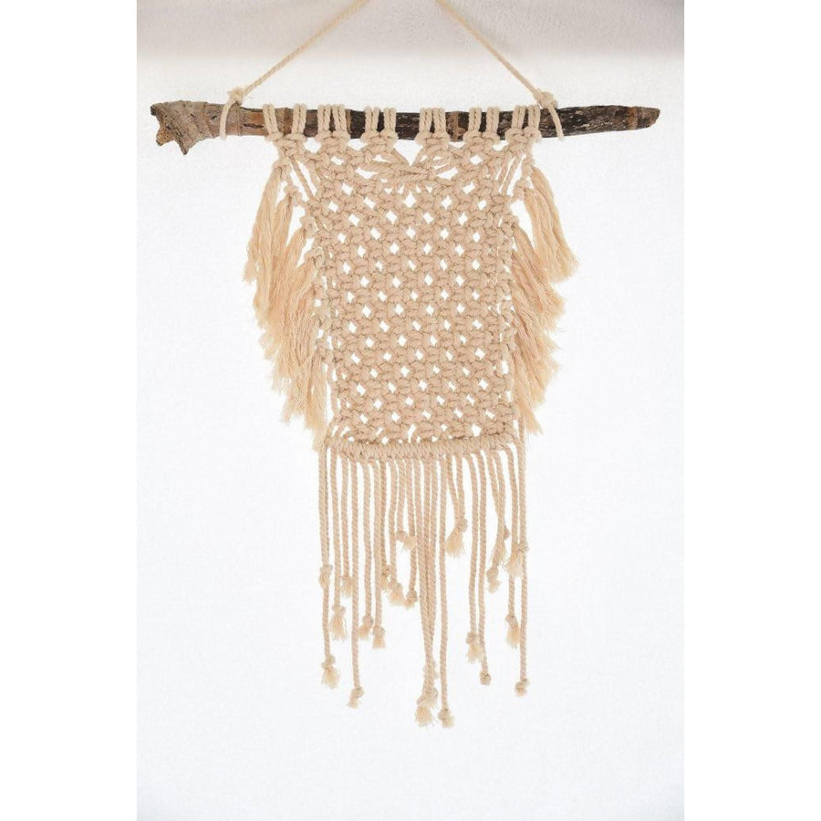 "BOHO WALL HANGING ""NERO"""