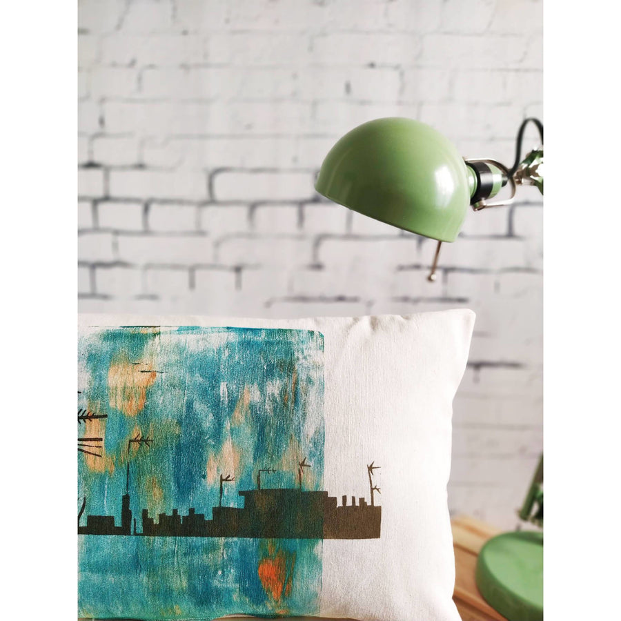 Contemporary Print Cushion Cover