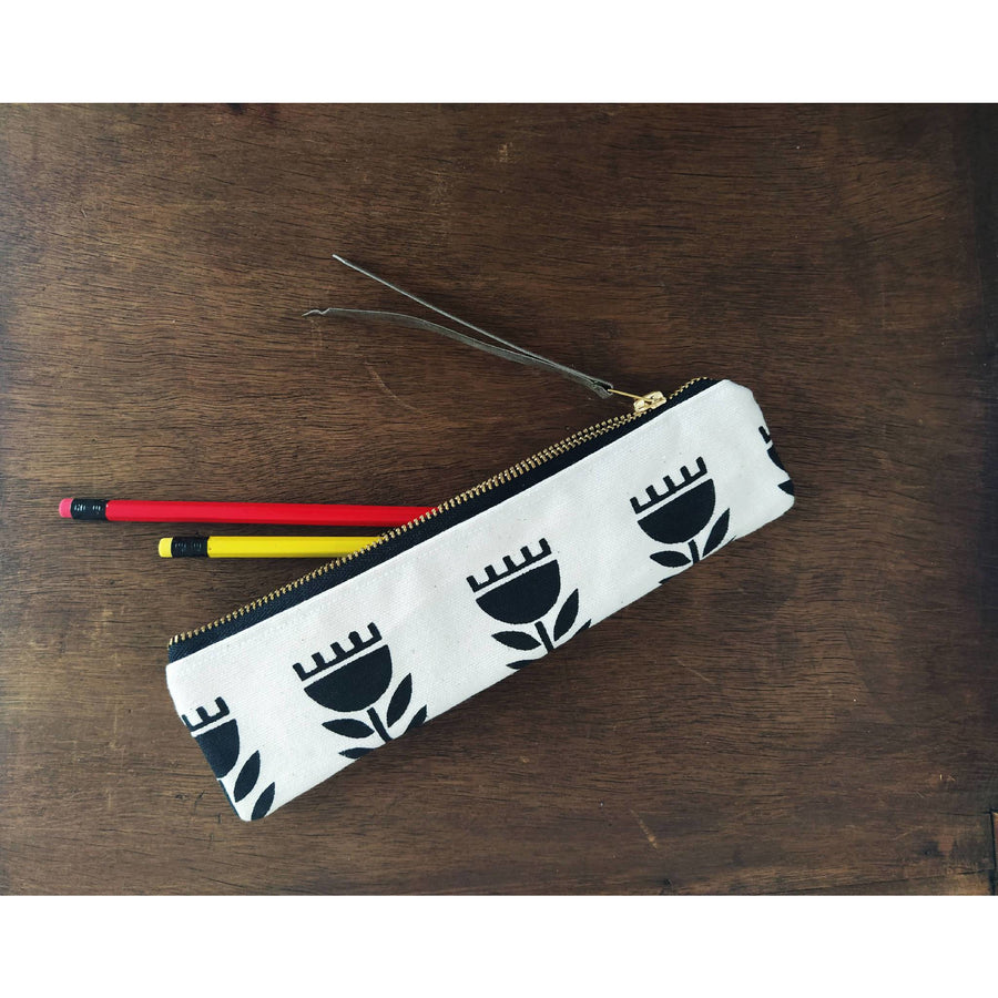 Scandinavian Art Pencil Holder