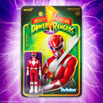 Red Ranger Mighty Morphin Power Rangers Super 7 Reaction Figure