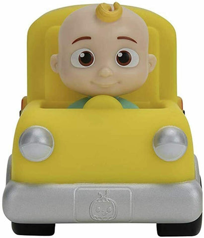 Cocomelon JJ Mini Yellow School Bus Little Vehicle Cars