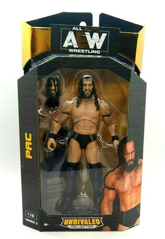 Pac AEW Unrivaled Series 3 Action Figure