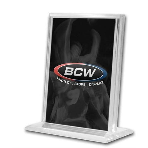 BCW ACRYLIC CARD STAND - VERTICAL
