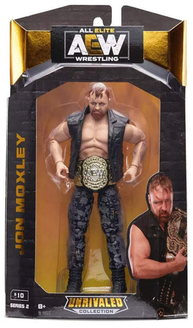 Jon Moxley AEW Figure Unrivaled Series 2 Figure