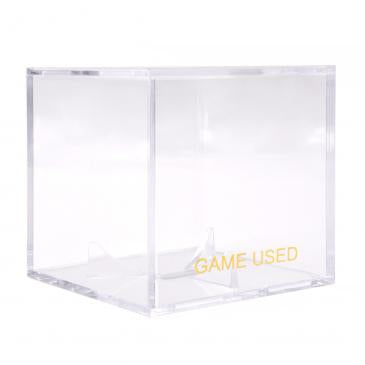 Game Used Baseball Clear Square UV Holder
