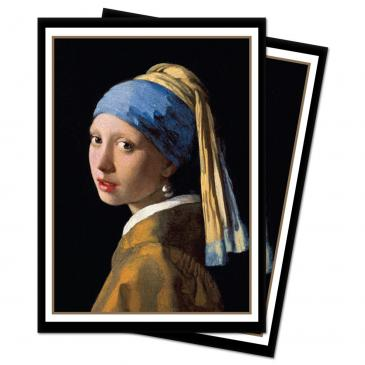 Fine Art - The Girl with the Pearl Earring Standard Deck Protector sleeves 100ct