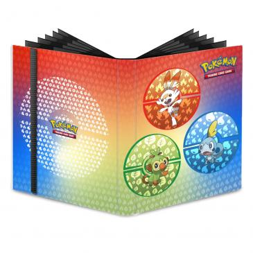 Sword and Shield Galar Starters 9-Pocket PRO-Binder for PokŽmon