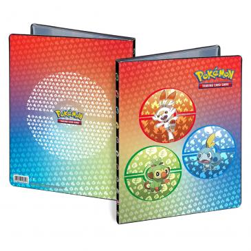 Sword and Shield Galar Starters 9-Pocket Portfolio for PokŽmon