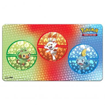Sword and Shield Galar Starters Playmat for Pokémon