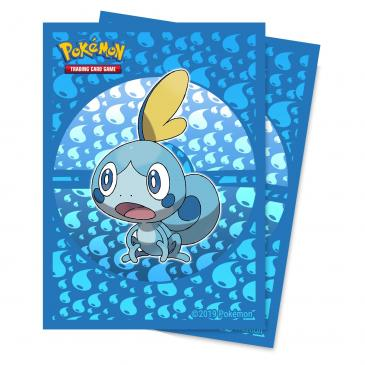 Sword and Shield Galar Starters Sobble Deck Protector sleeve 65ct for Pokémon