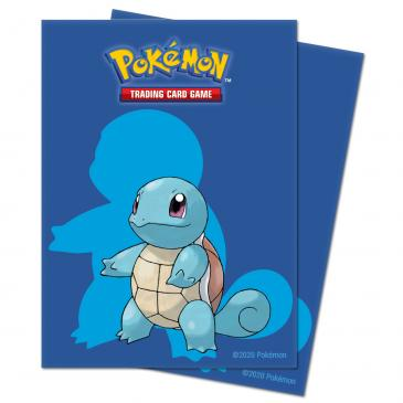 Squirtle Deck Protector sleeves for Pokémon 65ct