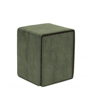 Suede Collection Alcove Flip Emerald Deck Box