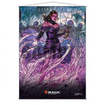 Stained Glass Planeswalkers Wall Scroll Liliana for Magic