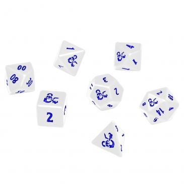 Heavy Metal Icewind Dale 7 RPG Dice Set for Dungeons & Dragons: White