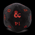 Jumbo D20 Dice Plush for Dungeons & Dragons