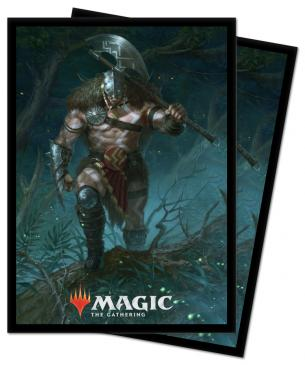 M21 Garruk, Unleashed Standard Deck Protector sleeves 100ct for Magic: The Gathering