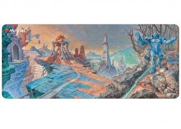 Double Masters Urza Lands Panorama 6ft Table Playmat for Magic the Gathering