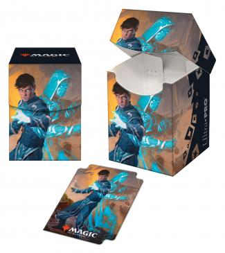 Zendikar Rising Jace, Mirror Mage PRO 100+ Deck Box for Magic: The Gathering