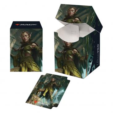 Zendikar Rising Nissa of Shadowed Boughs PRO 100+ Deck Box for Magic: The Gathering