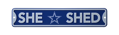 Dallas Cowboys Steel Kid Cave Sign 16x3 16in