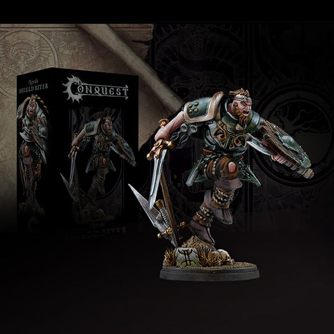 Shield Biter Conquest Nords Miniature Figure