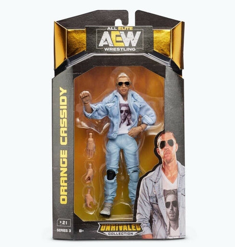 Orange Cassidy AEW Unrivaled Series 3 Action Figure