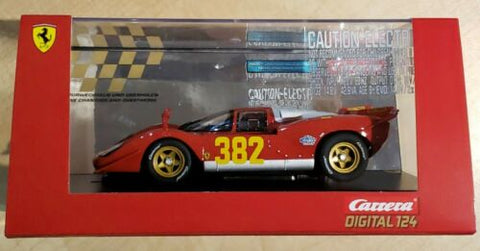 Carrera Ferrari 512S Berlinetta No 382 1970 1:24 Slot Car