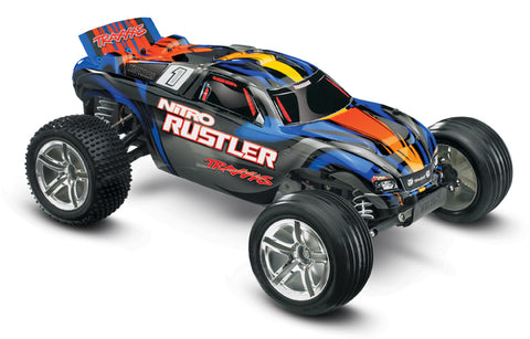 Nitro Rustler Hard-Charging 50+mph Performance!
