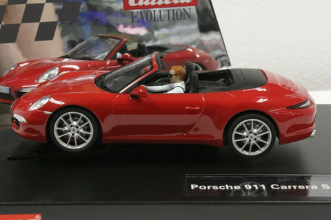 Carrera Evolution Porsche Carrera S Cabriolet 20027534