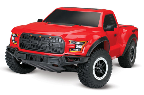 Ford F-150 Raptor: 1/10 Scale 2WD Ford F-150 Raptor (RED)