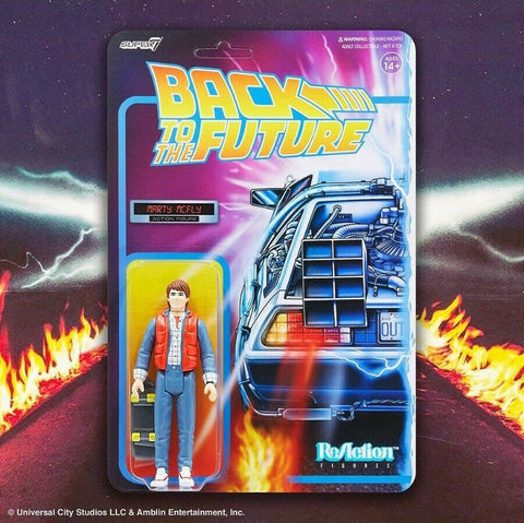 Marty Mcfly Back to the Future Super 7 Reaction Figure
