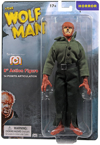 The Wolfman Mego Horror Action Figure 8""