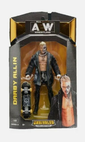 Darby Allin AEW Unrivaled Series 3 Action Figure