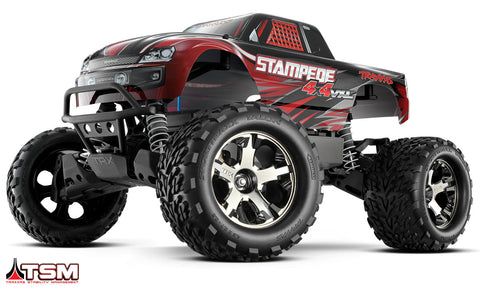 Stampede 4X4 VXL: 1/10 Scale Monster Truck (RED)
